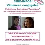 CINE-INFOS «violences conjugales»