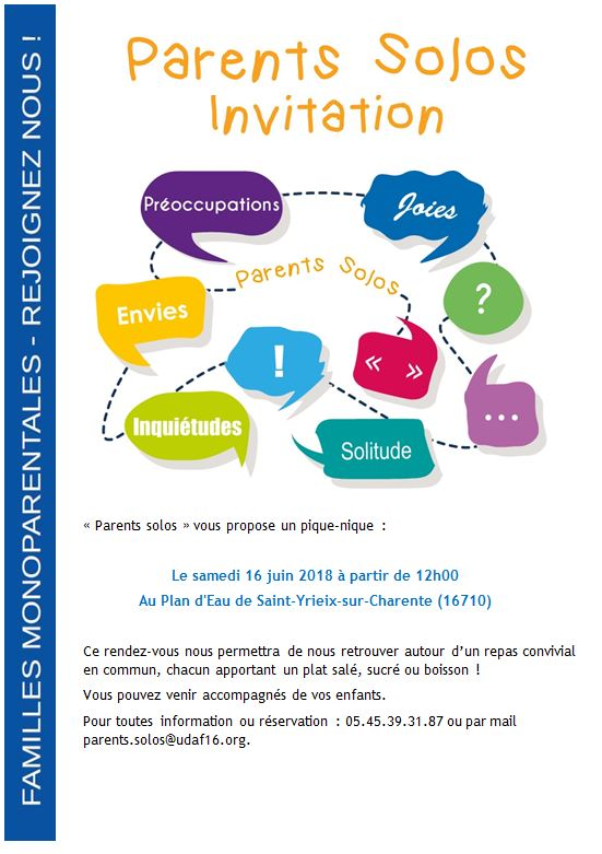 Rencontre parents solo lyon