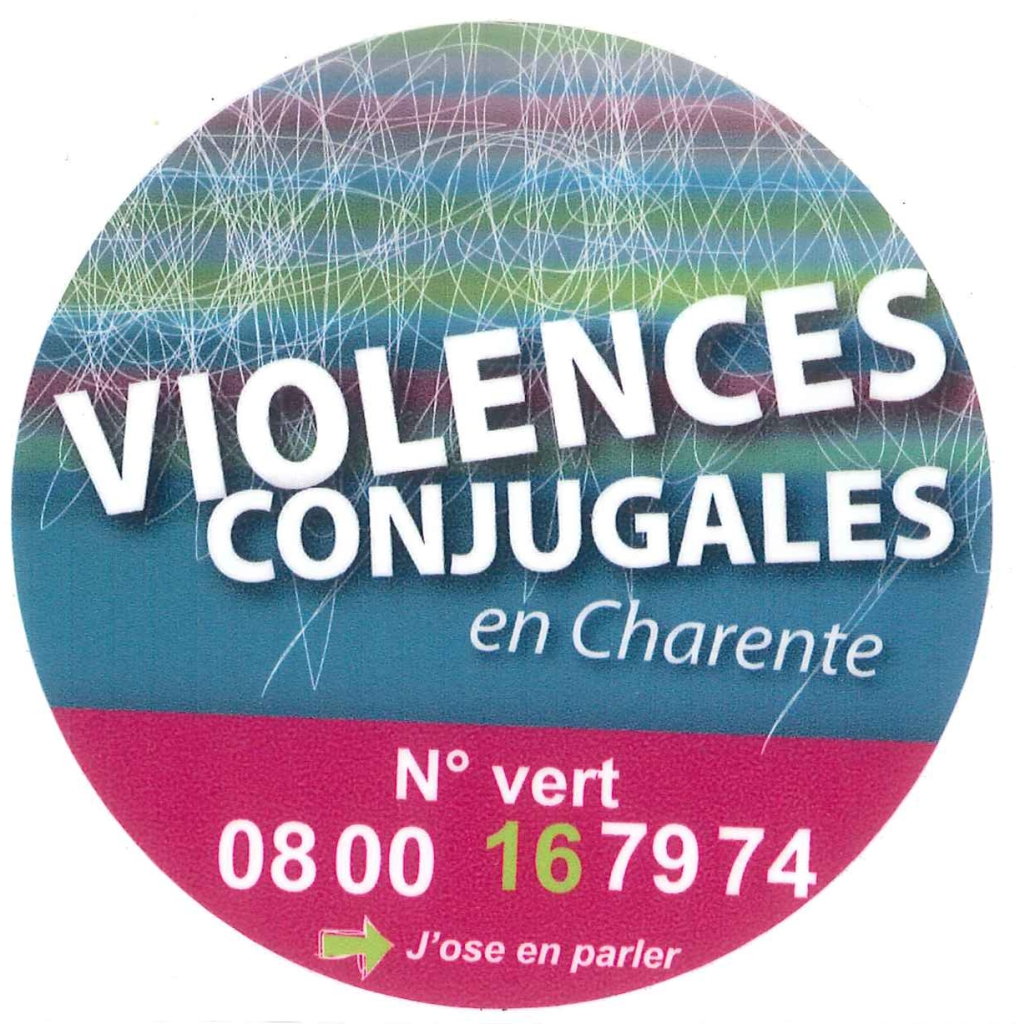 violences conjugales en Charente logo