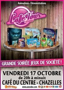 """Soirée """"jeux de société""""17 oct 2014"""
