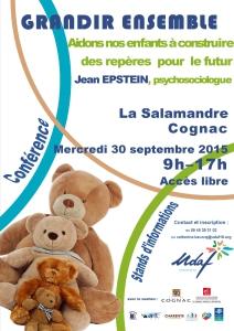 Affiche Conference cognac 30 09 15.